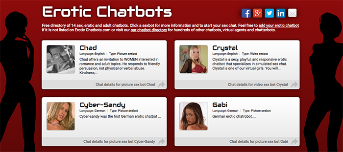Why Sex chatbot?